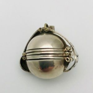 Sterling Silver 6 Pic, Photo Sphere/Ball Pendent